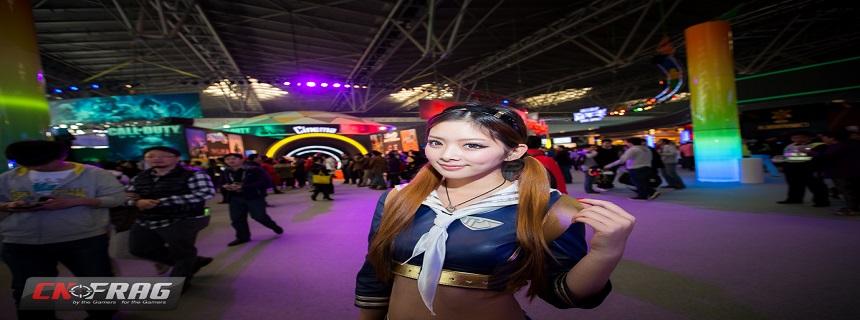 TGC2012腾讯游戏嘉年华软妹